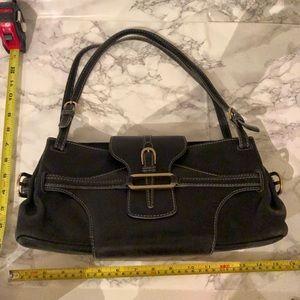 Vintage black leather Jimmy Choo purse (Tulita?)